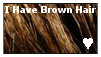 I have Brown Hair Stamp by BlazingSnow