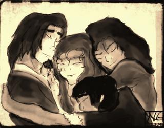 TJOW: Book One Group Hug by N-Zhervey