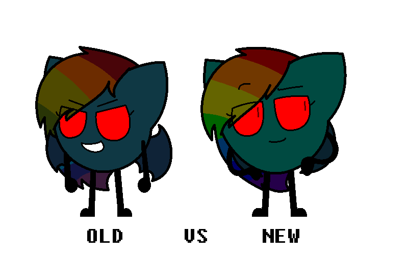 Old vs New by SkyMeowCute