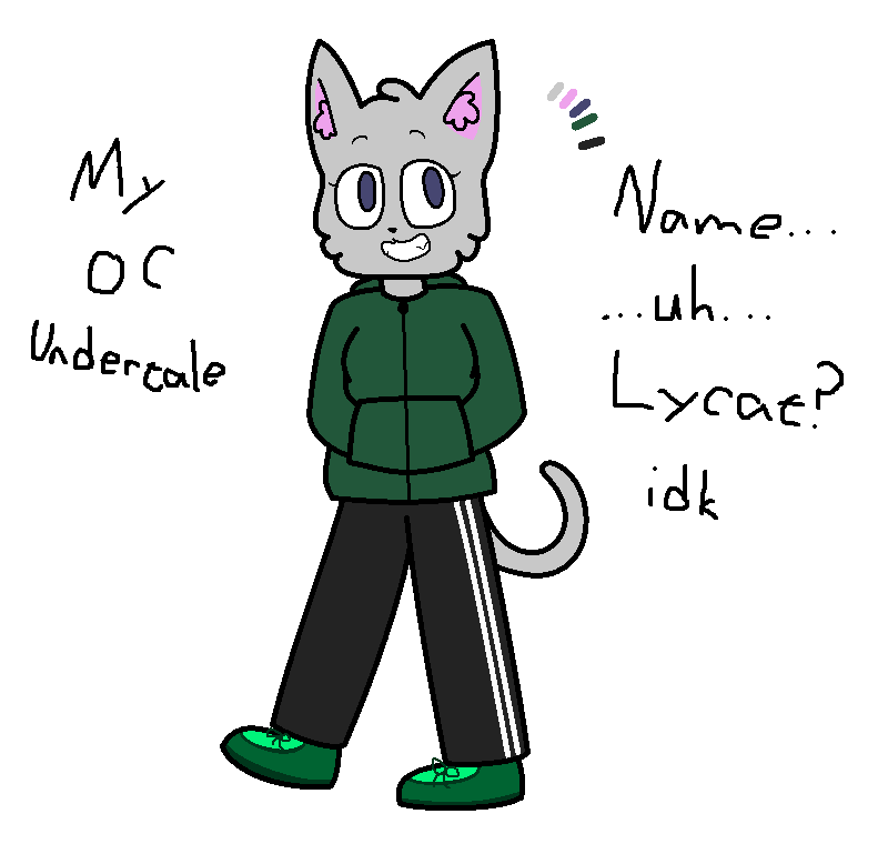 My OC Lycat (undertale)(OLD) by SkyMeowCute