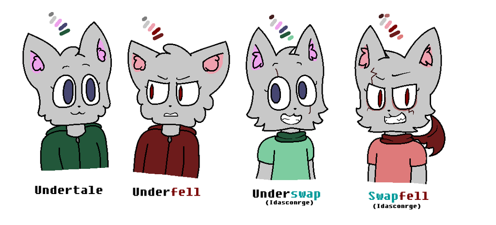 My oc Lycat (undertale AU) by SkyMeowCute