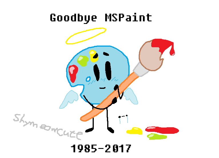 Goodbye MSPaint by SkyMeowCute