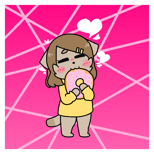 Donut by SkyMeowCute