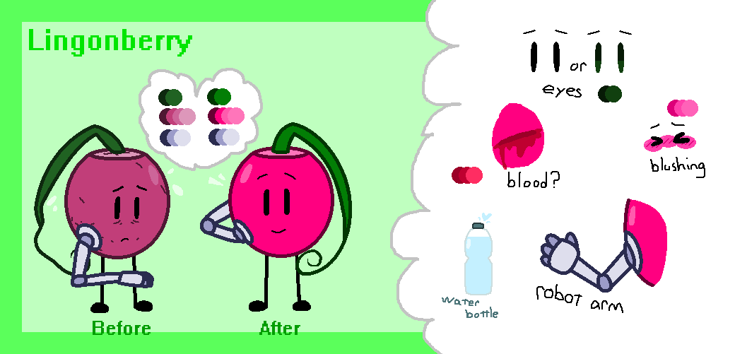 Lingonberry ref by SkyMeowCute