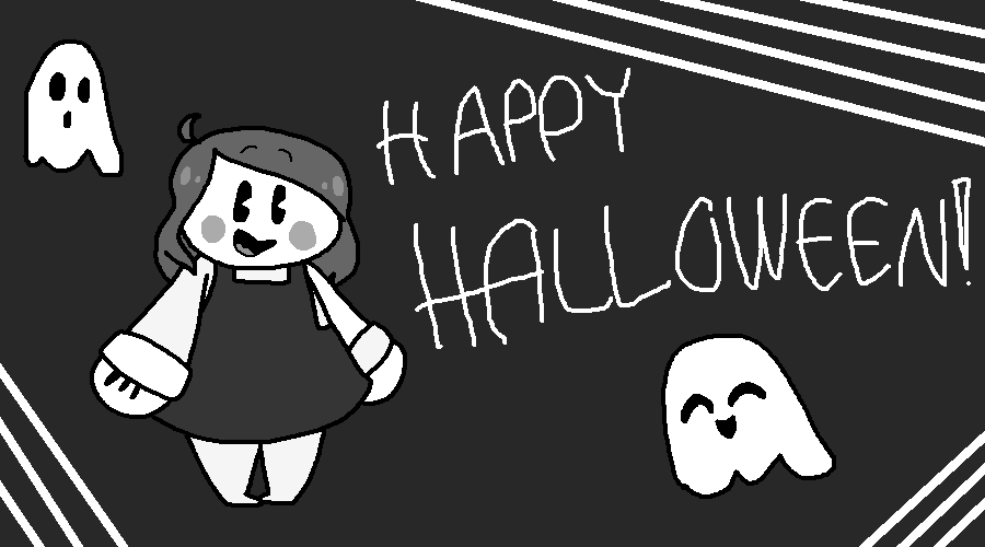 Happy Halloween! by SkyMeowCute