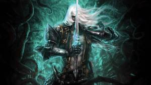 Castlevania LoS II Alucard in his soul colours