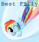 Best Filly: Rainbow Dash (Speedpaint!)