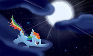 Night Flight (updated) by artoftheghostie
