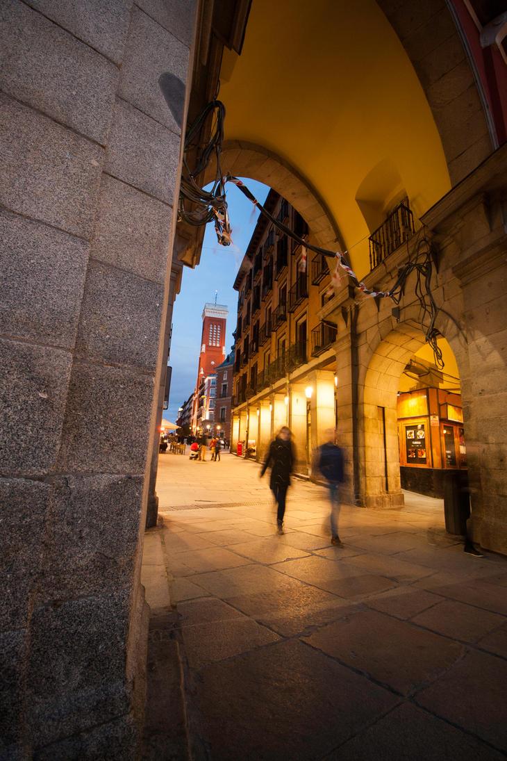 Plaza Mayor by esperanzamarchita