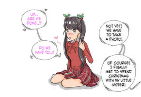 My Little Sister Amy [christmas omake] page 5
