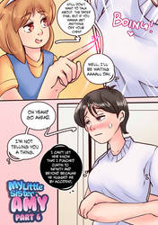 My Little Sister Amy 6: Page 1