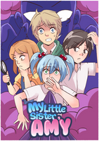 My Little Sister Amy 7: cover by meowwithme