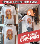 Infinity Gauntlet Amy T-Shirt Give-away!