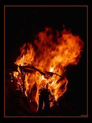 Le feu by marsup