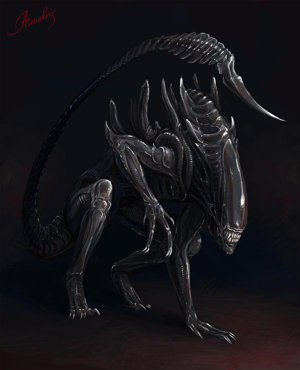 Alien by Atenebris