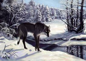 Canis-ferox trade WIP by Atenebris