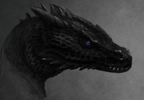 snakedragon by Atenebris