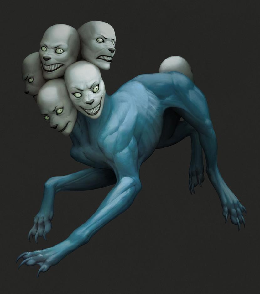 Blue demon by Atenebris