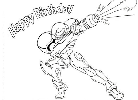 Happy biday from samus. by chaos-07