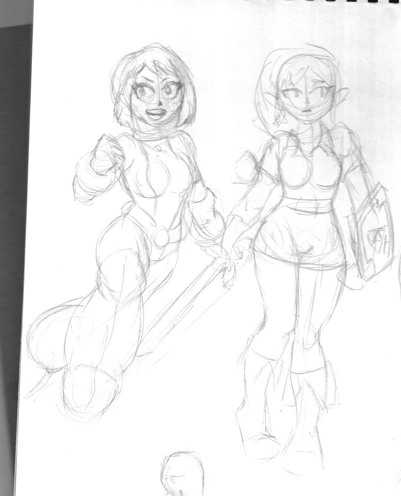 uravity and girl link. by chaos-07