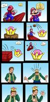 Bowsette  super crown transformation