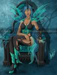 Queen Chrysalis Big Art