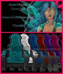 Queen Chrysalis Throne Instant by AvakiaIMVU