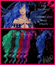 Luna Hair Instant by AvakiaIMVU