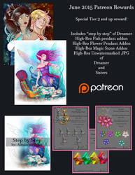 June 2015 Patreon Rewards by AvakiaIMVU