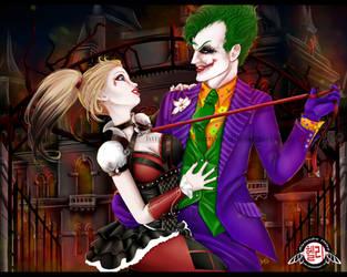 Harley Quinn and Joker by AvakiaIMVU