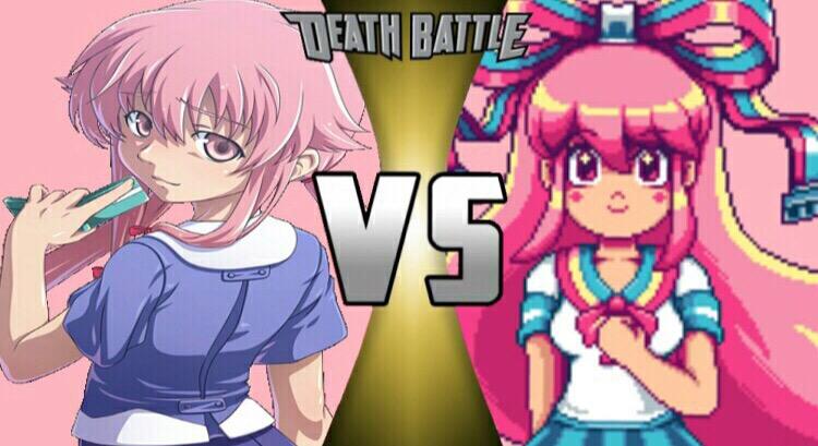 Yuno Gasai Vs GIFfany DEATH BATTLE By HeroOfTheEmblem On DeviantArt