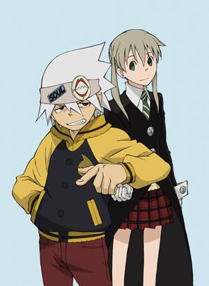 Anime Royale: Maka and Soul by HeroOfTheEmblem on DeviantArt