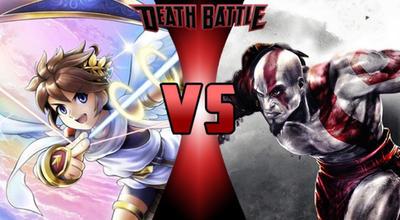 CLAIM: Pit Vs Kratos by HeroOfTheEmblem