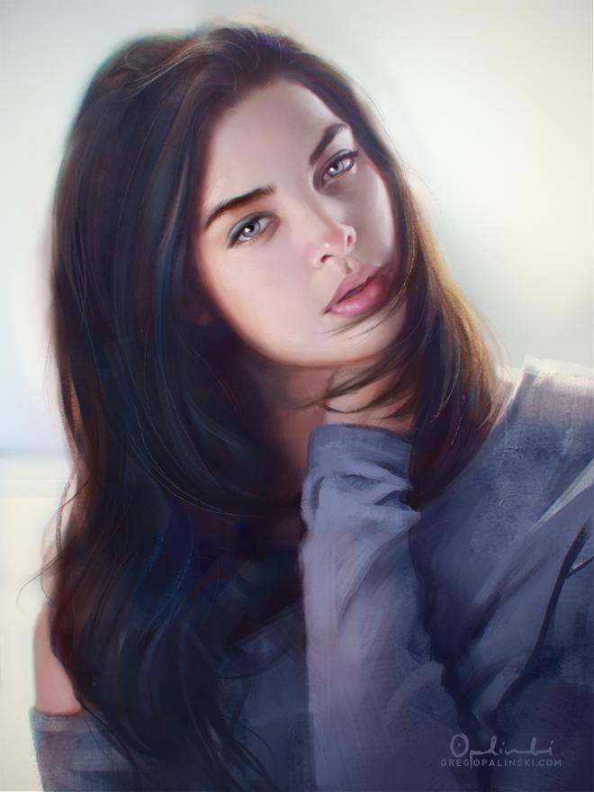Blue Eyes by Greg-Opalinski