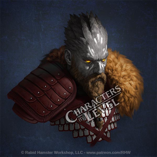 Barbarian Oread by Greg-Opalinski