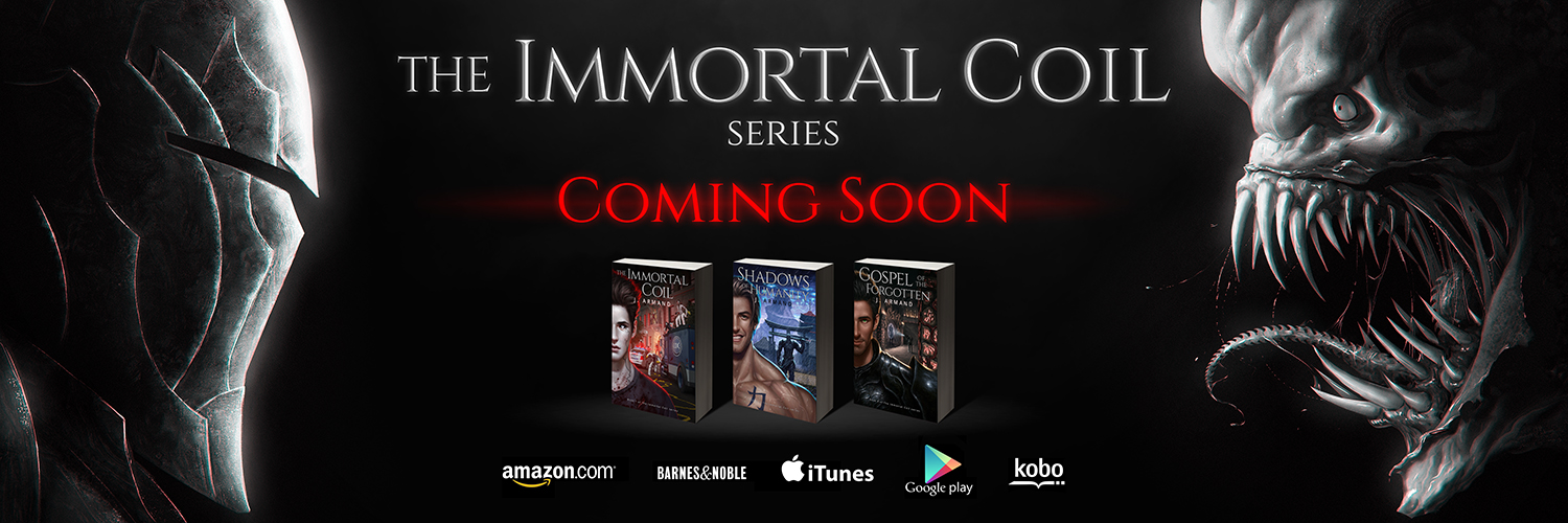 Immortal Coil series promo by Greg-Opalinski