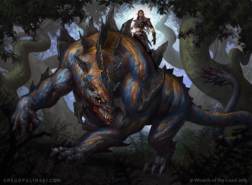 Tajuru Beastmaster by Greg-Opalinski