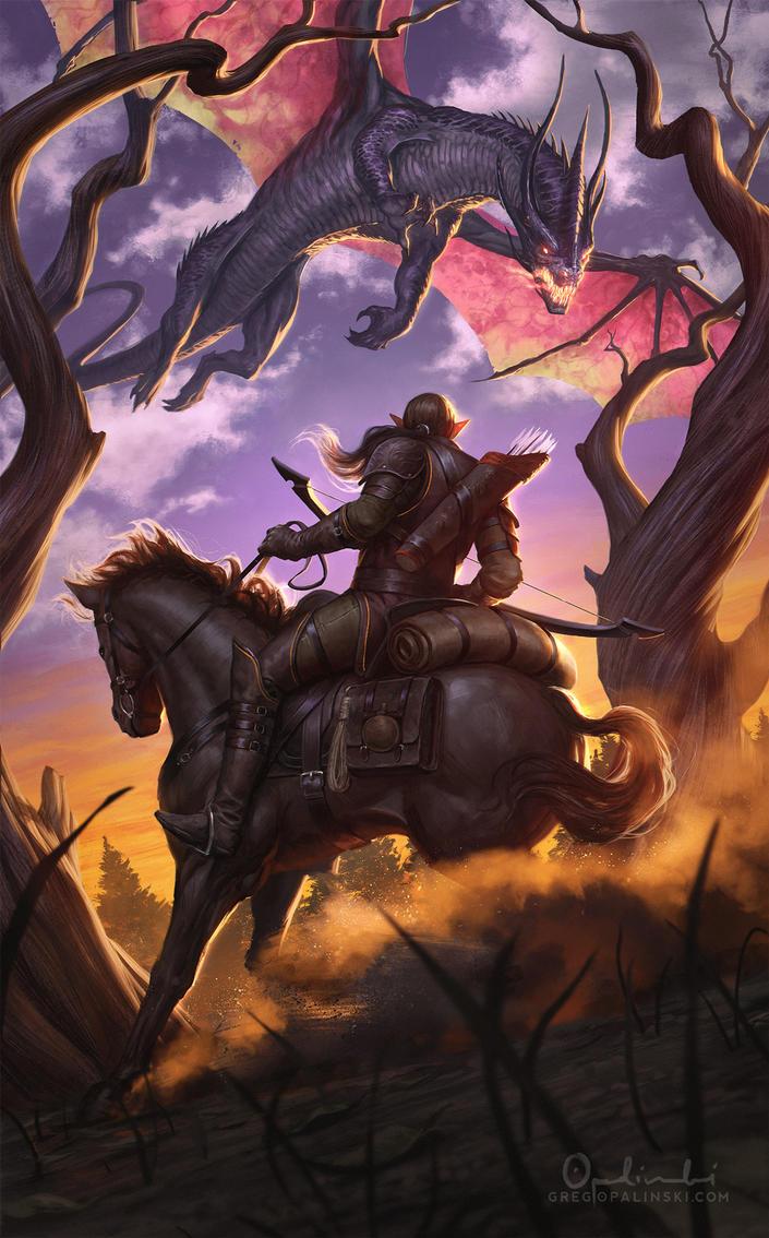 Dragon Hunt 3.0 by Greg-Opalinski