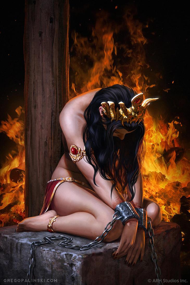 Queen of Vampires #7 by Greg-Opalinski