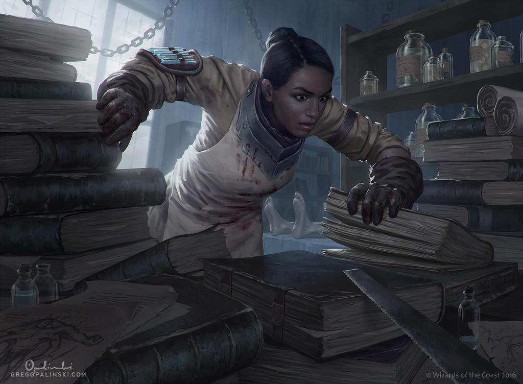 Scour the Laboratory by Greg-Opalinski