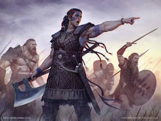 Saskia the Unyielding by Greg-Opalinski