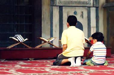 praying kids :))