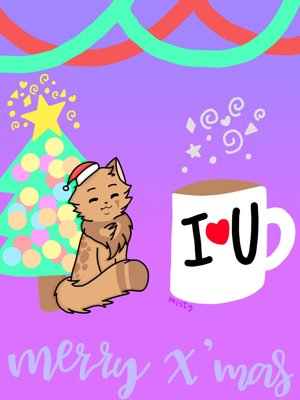 Christmas cheer by Feathermist328