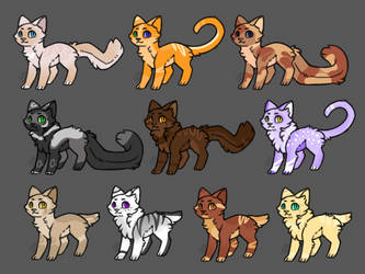 Adoptables/Auction(CLOSED) by Feathermist328