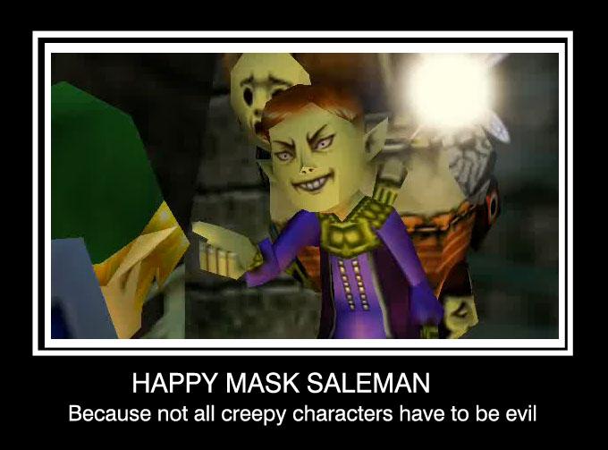 Happy Mask Salesman Quotes. QuotesGram