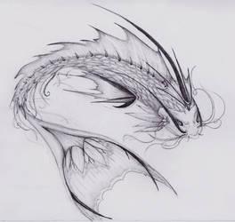dragon fish - piscera's angel by Mel-Artz