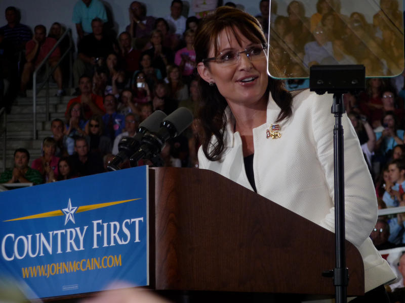 Sarah Palin at ECU 2