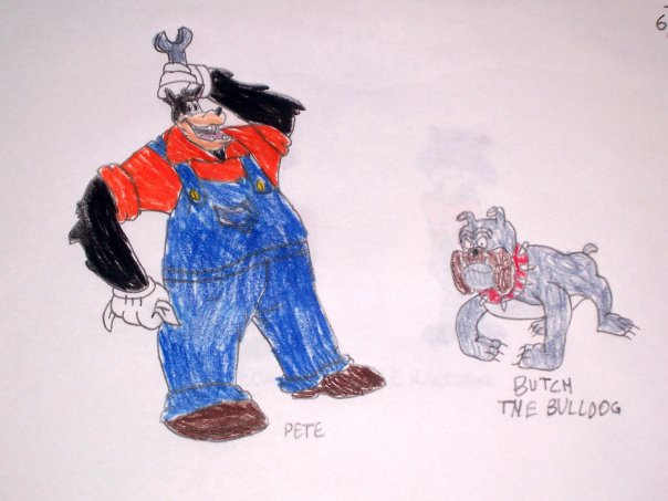 butch the bulldog pete and butch by chipmunkraccoonoz on deviantart 3050