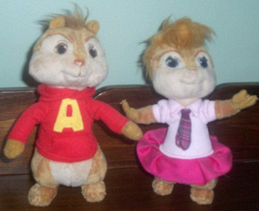 Alvin And Brittany Plush By ChipmunkRaccoonOz On DeviantArt