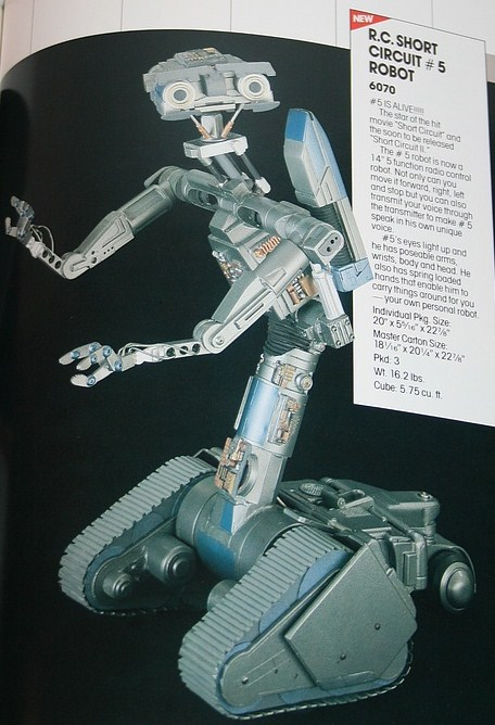 Proposed Johnny 5 toy from Matchbox by ChipmunkRaccoon2